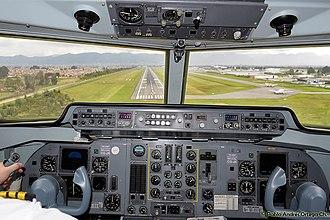 Fokker 50 - Cockpit of a Fokker 50