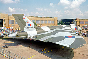 No. 101 Squadron RAF - 101 Squadron Vulcan B.2 of the RAF Waddington Wing in 1972