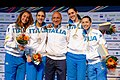 Award ceremony 2014 European Championships FFS-EQ t210257.jpg