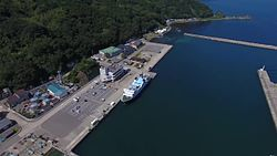 ファイル:Awashima Island in Summer, Japan - Aerial Video.webm