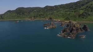 File:Awashima Island in Summer, Japan - Aerial Video.webm