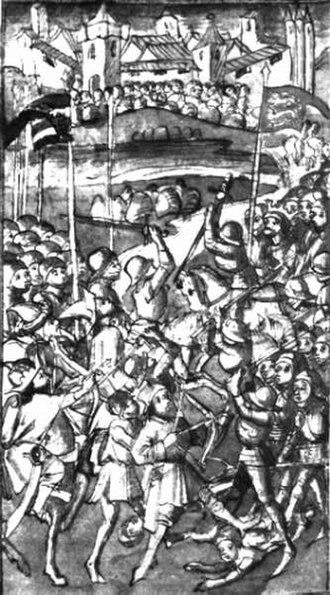 Prince-Bishopric of Augsburg - The battle of Augsburg, 955