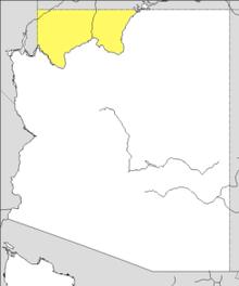 Map Of Arizona Strip.Arizona Strip Wikipedia