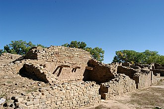 National Register of Historic Places listings in San Juan County, New Mexico - Image: Aztec ruins national monument 20030922 100357 1.1504x 1000
