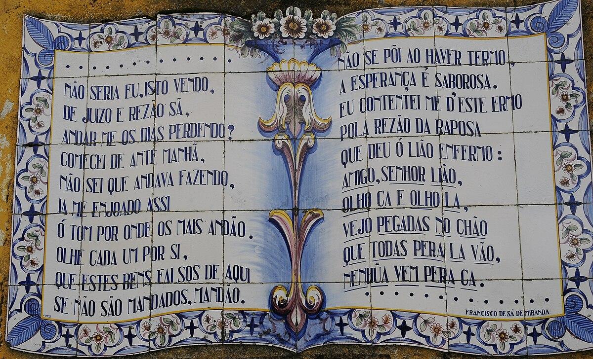 Francisco sa de miranda wikipedia la enciclopedia libre for Casa dos azulejos lisboa