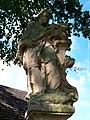 Běleč (KL), socha svatého Jana Nepomuckého (01).jpg