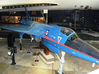 Fairey Delta 2 - BAC 221 at the Fleet Air Arm Museum. The forward extension and general curving layout can be seen