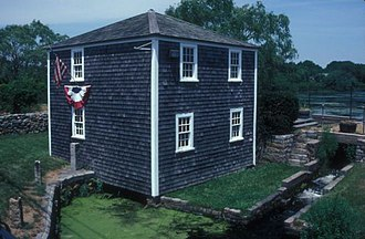 National Register of Historic Places listings in Barnstable County, Massachusetts - Image: BAXTER MILL