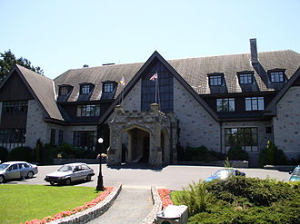 Government House (British Columbia) - Main façade of Government House