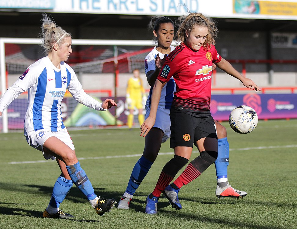 BHA Women 0 Man Utd Women 2 WFAC 4th rd 03 02 2019-650 (46261825944).jpg