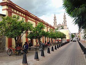 "Lagos de Moreno - Image: BIBLIOTECA PUBLICA REGIONAL ""MARIA SOINE DE HELGUERA"" DE LAGOS DE MORENO,JALISCO. MEXICO"