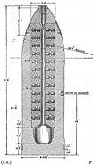 BL 9.2 inch Boxer shrapnel shell diagram