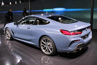 BMW 8 Series (G15) - Image: BMW 8er, Paris Motor Show 2018, IMG 0489
