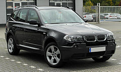 BMW X3 przed liftingiem