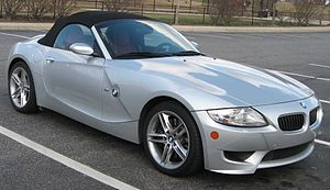 BMW M Roadster - Image: BMW Z4 M 1