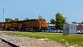 BNSF Passing Through Claremore - Part I (7191566980).jpg