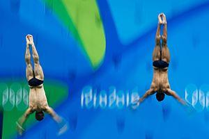 Sam Dorman - Mike Hixon and Sam Dorman (right) at the 2016 Olympics