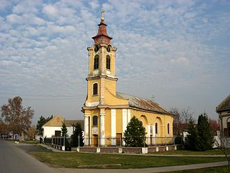 Bački Brestovac - The Orthodox church.