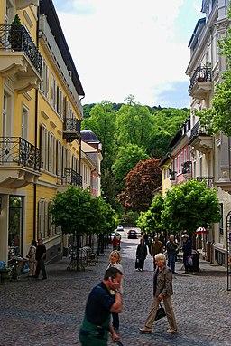 Wilhelmstraße in Baden-Baden