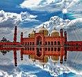 Badshahi Masjid Lahore by Hasnain Naeem.jpg