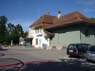 Jegenstorf - Jegenstorf rail station