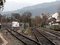 Bahnhof Waldkirch, Gleisanlagen mit Abstellanlage.jpg