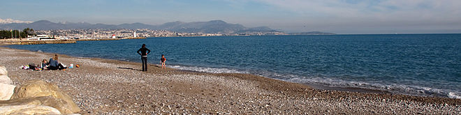 Baie des anges wikip dia for Piscine marina baie des anges