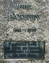 Ο τάφος του Μπακούνιν στη Βέρνη