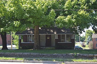 National Register of Historic Places listings in Nelson County, Kentucky - Image: Baldwin's Tourist Court Residence Office
