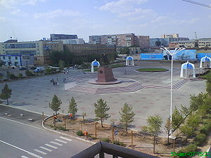 Balkhash (city) - Centre of the city