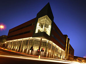 Gateshead College - Gateshead College Baltic Campus at night
