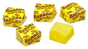 Necco - Banana Split chews.