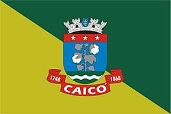 Flag of Caicó, Rio Grande do Norte, Brazil