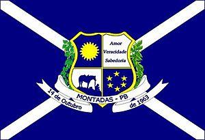 Montadas - Image: Bandeira de Montadas PB