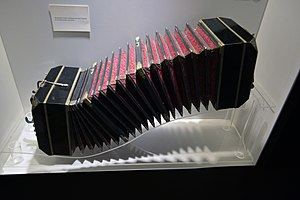 Astor Piazzolla - Astor Piazzolla's Doble A bandoneon used in his main concerts.