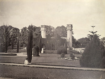 Bangalore, Madras (Karnataka ) The Lall Bagh or Red Garden 1860.jpg