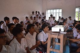 Bangla Wikipedia School Program at Chittagong Collegiate School (07).jpg