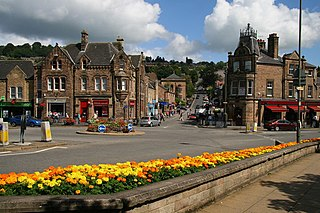 Matlock, Derbyshire County town of Derbyshire