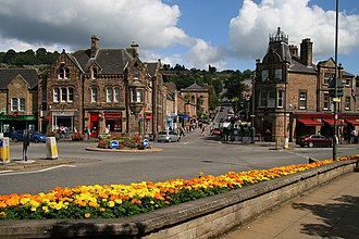 Matlock, Derbyshire - Image: Bank Road, Matlock geograph.org.uk 937427