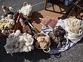 Baréges- fête des bergers 15 Aout 2014 - Laine de moutons.JPG