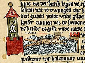 Göksu - Image: Barbarossa smrt