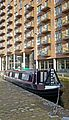 Barge in Granary Wharf, Leeds (5361055197).jpg