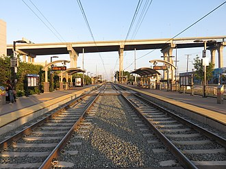 Barrio Logan station - The station in 2018, with part of the San Diego–Coronado Bridge in the background