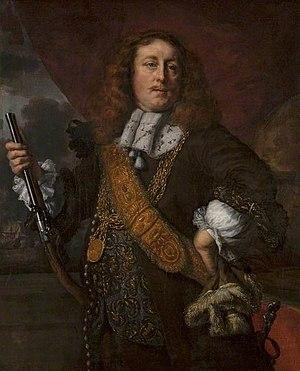 Willem van der Zaan - Portrait of Willem van der Zaan by Bartholomeus van der Helst