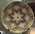 Basket plate, Mollie Foreman, Maidu, c. 1910 - Oakland Museum of California - DSC05039.JPG