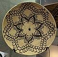 Basket plate, Mollie Foreman, Maidu, c. 1910 - Oakland Museum of California - DSC05039.JPG