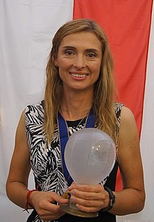Beata Choma Polish sportsperson, hot air balloon pilot, European champion
