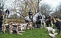 Beaufort Hunt Meet, Easton Grey House, Wiltshire 2015 (geograph 5817723).jpg