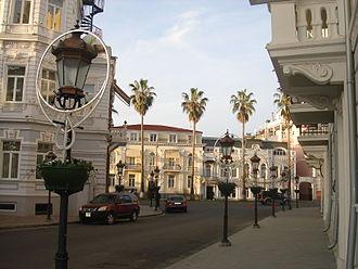 Batumi - Street in Batumi