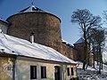 Bechyně, zámek, z Táborské přes dům 113.jpg